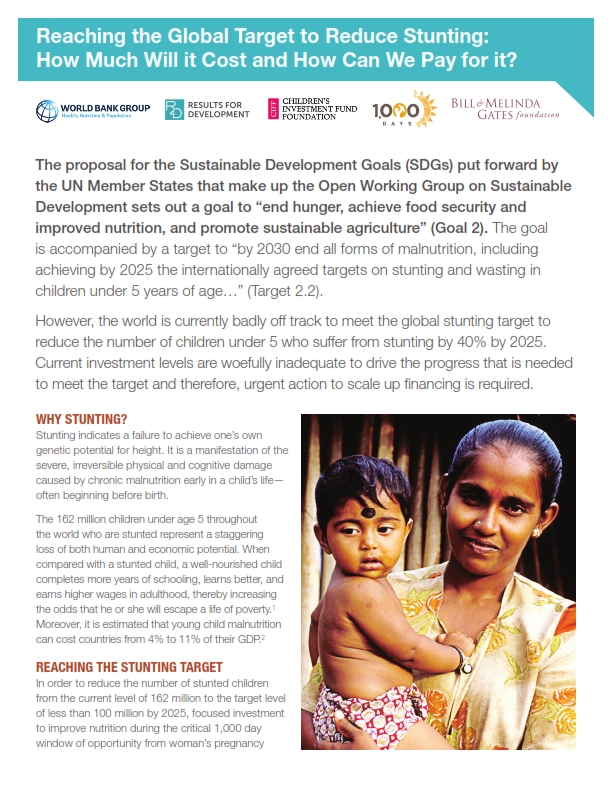 Global Target to Reduce Stunting_001