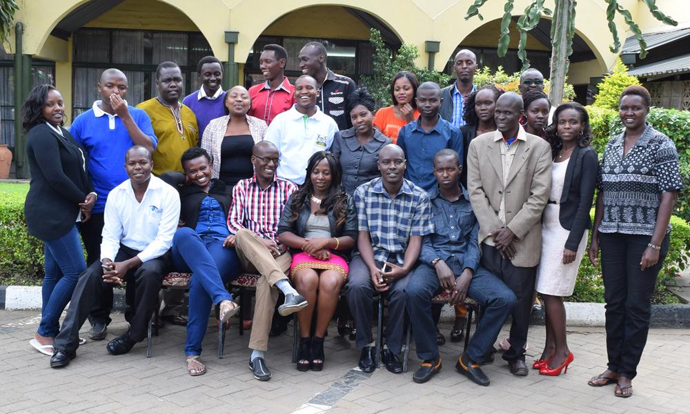 Nakuru Media Training in May 2015