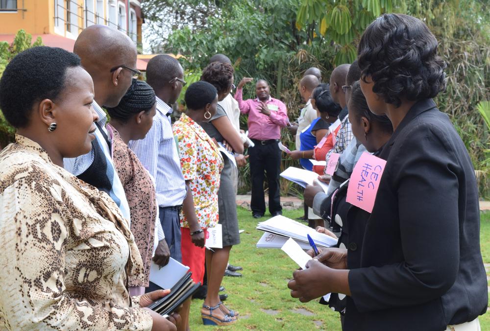 Nutrition Advocacy training session in Kajiado County