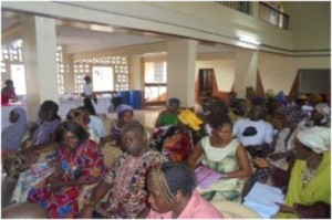 Cross section of participants at the workshop. Source: Sierra Express Media