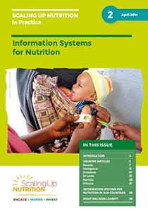 Information Systems for Nutrition