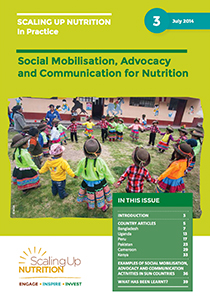 Advocacy and Communication for Nutrition