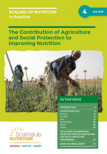 The Contribution of Agriculture and Social Protection to Improving Nutrition