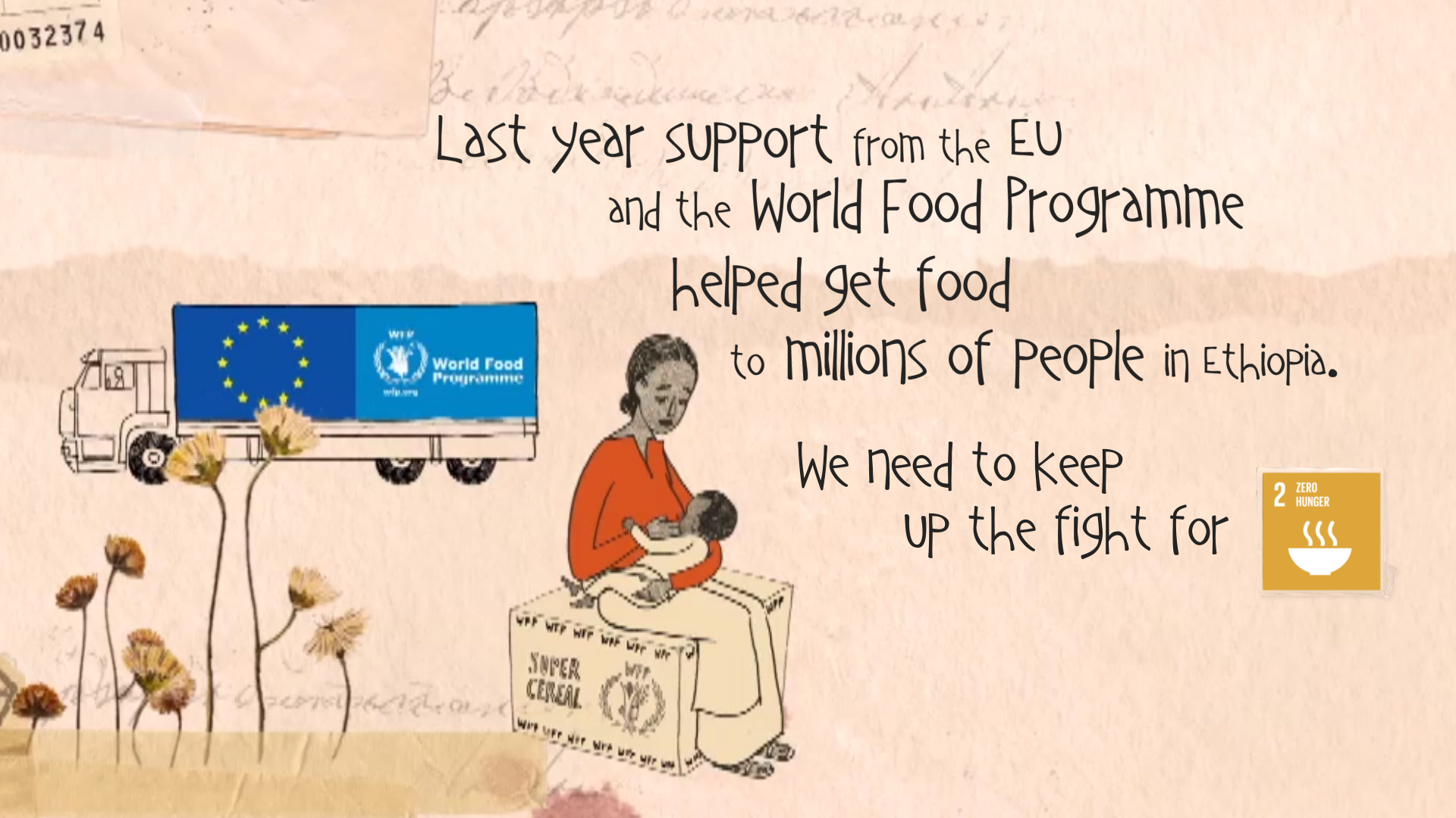 WhatFoodMeans Campaign - Fighting Hunger in Ethiopia