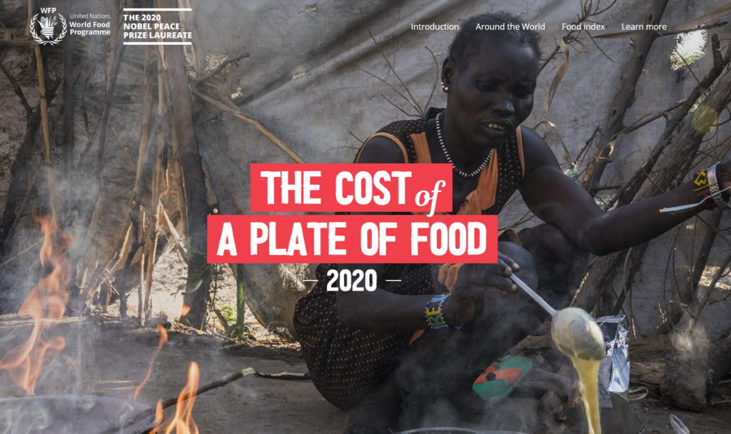 """""""Cost of a Plate of Food"""" 2020report shows access to food grossly unequal as COVID-19 adds to challenges"""