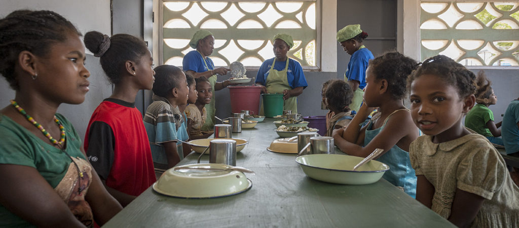 WFP to convene a coalition of stakeholders to restore and boost access to school feeding for the most vulnerable children