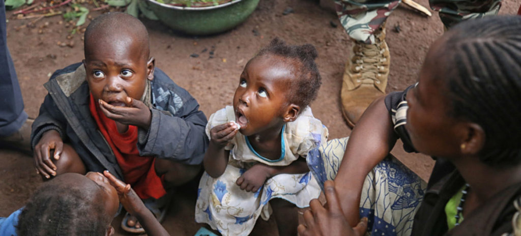 Child malnutrition rates soar as violence rages in Central African Republic